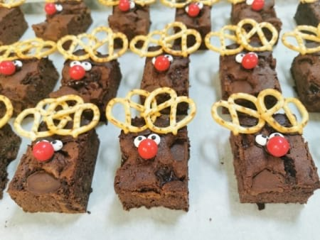 Lindt Chocolate Brownie Reindeers