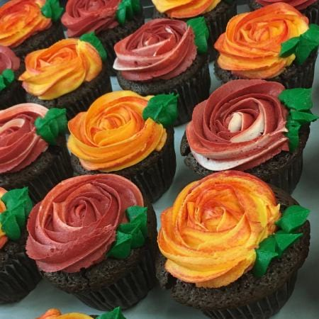 Cup Cake Roses