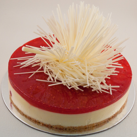 raspberry white chocolate cheese